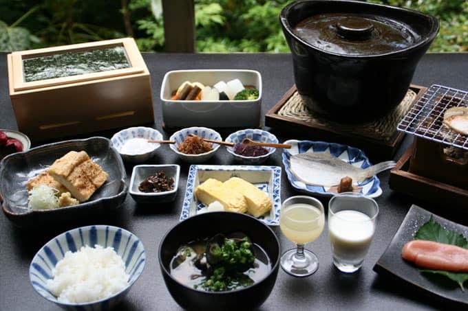 Beniya Mukayu Kagaonsen Ishikawa Kaga Food Breakfast Japan and Luxury Travel Specialist Luxury Travel to Japan Izumi Ogawa Travel Agent