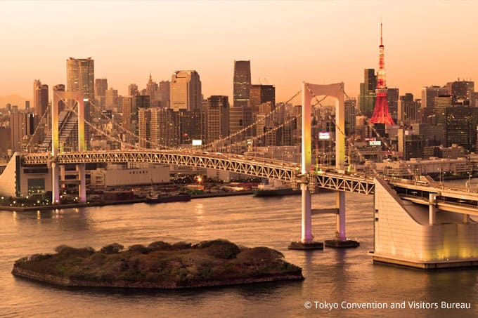 Tokyo Rainbow Bridge Odaiba Japan and Luxury Travel Specialist Luxury Travel to Japan Izumi Ogawa Virtuoso Travel Agent