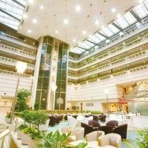 Kyoto Brighton Hotel Lobby Japan and Luxury Travel Specialist Luxury Travel to Japan Izumi Ogawa Travel Agent