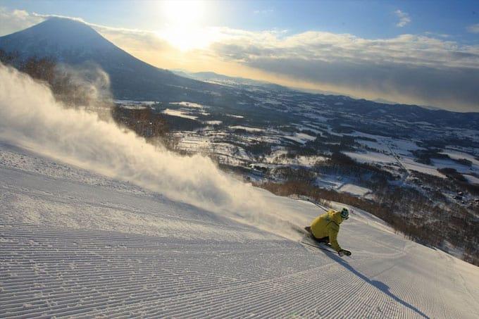 Hokkaido skiing Luxury Travel to Japan