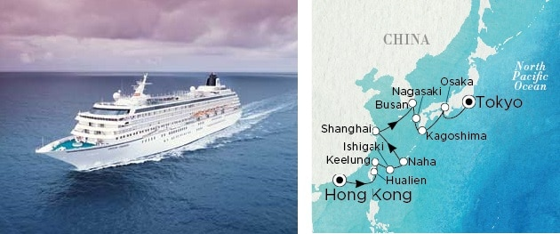 Crystal Cruises Hong Kong Japan Tokyo luxury travel Agent vacation