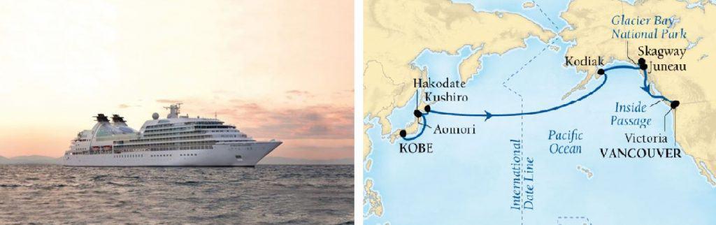 Seabourn luxury cruise japan kobe vancouver izumi ogawa travel vacation specialist virtuoso ship boat alaska agent advisor voyage holiday