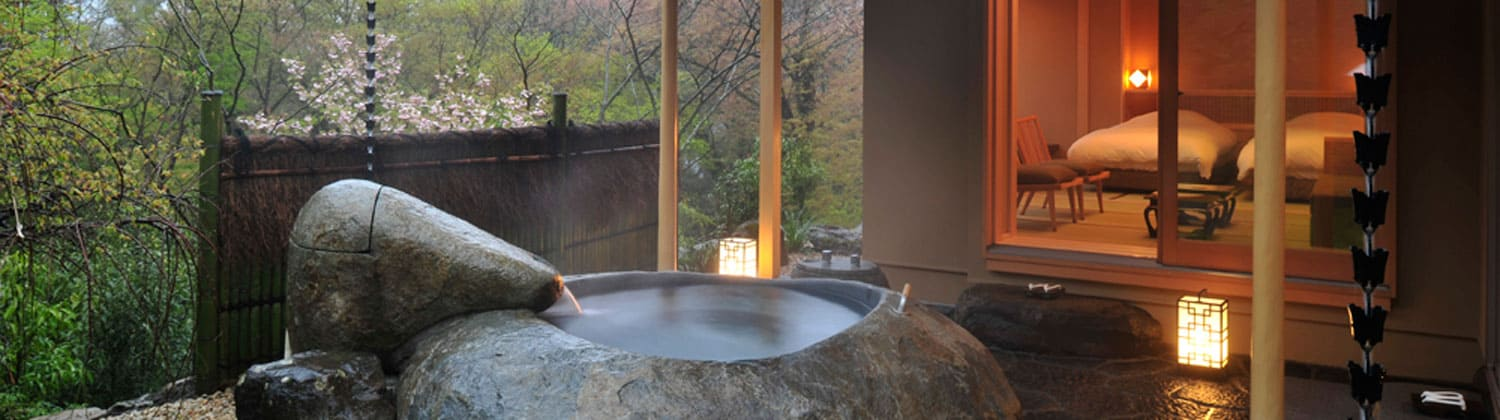 Bath Onsen Hot Spring Gora Kadan Japan and Luxury Travel Specialist Luxury Travel to Japan Izumi Ogawa Virtuoso Travel Agent