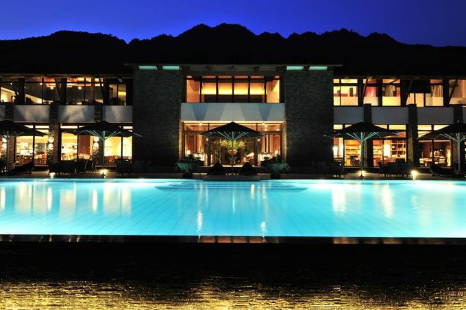 Sankara Hotel & Spa Yakushima Kagoshima Pool Japan and Luxury Travel Specialist Luxury Travel to Japan Izumi Ogawa Travel Agent vacation advisor